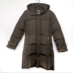 Bromley Sport Down Chocolate Brown Puffer Coat